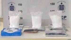 Feira de Santana: Polícia apreende 5 kg de cocaína escondida em tabletes e sacos plásticos - policia, feira-de-santana, bahia