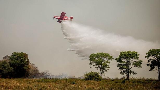 Mato Grosso do Sul reforça as ações para prevenir incêndios - brasil