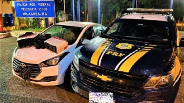 Casal que transportava drogas de São Paulo para Salvador é preso em Milagres - policia, milagres, destaque, bahia