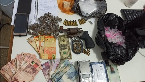 Ibirapitanga: Ponto de tráfico de drogas é localizado no bairro Brasília - ibirapitanga, bahia