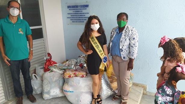 SAJ: Campanha do Agasalho entrega primeiras doações na Creche 11 de Dezembro - saj, noticias, destaque