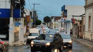 Carreata Fora Bolsonaro foi realizada em Santo Antônio de Jesus neste sábado, 24 - saj, noticias, destaque