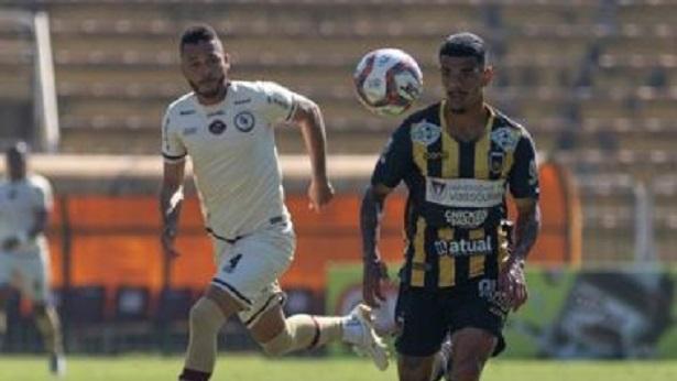 Jacuipense empata com o Volta Redonda pela Série C - esporte