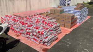Carga de leite roubada na Via Parafuso é recuperada em Camaçari - camacari, bahia