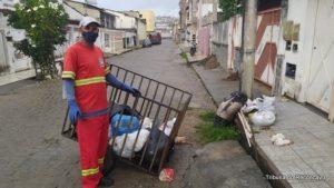 SAJ: Lixo depositado na rua a noite dificulta trabalho de profissionais da limpeza - saj, noticias, destaque