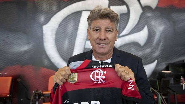 """Rivaldo sobre contratação de Renato Gaúcho: """"Nome certo para reerguer o Flamengo"""" - esporte"""