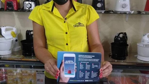 Mutuípe: Estabelecimentos comerciais divulgam ferramenta para recuperação de celular roubado - noticias, mutuipe