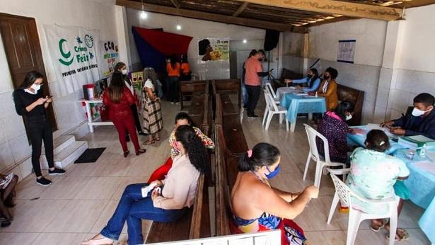 SAJ: CRAS Itinerante visita localidade da Boa Vista - saj, noticias