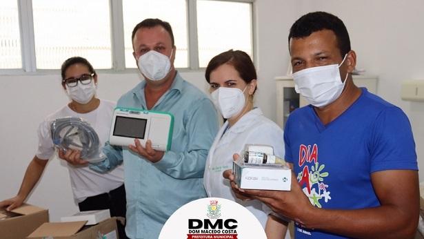 Dom Macedo Costa: Município adquire novos equipamentos para a saúde - noticias, dom-macedo-costa