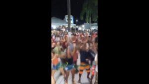 Aratuípe: Festa em Maragogipinho termina com praça cheia e pessoas sem máscaras - policia, destaque, bahia, aratuipe