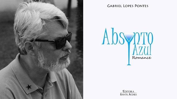 "Artista baiano Gabriel Lopes Pontes lança o romance ""Absynto Azul"" - noticias, literatura"