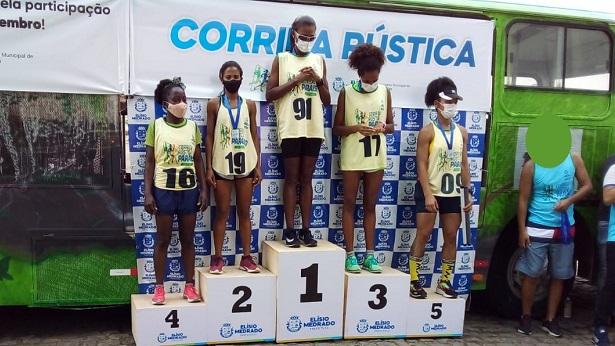 SAJ: Atletas da USA se destacam em corrida rústica na cidade de Elísio Medrado - saj, noticias, esporte, destaque