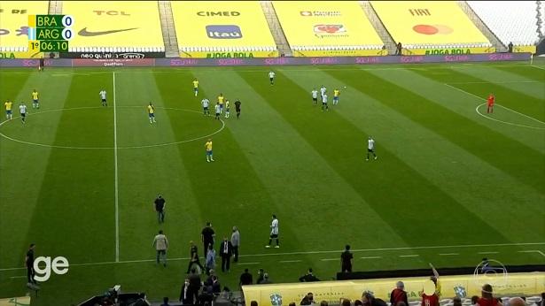Partida entre Brasil e Argentina é suspensa após intervenção da Anvisa - esporte