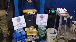 Itabuna: Laboratório de drogas é desmantelado pela Polícia - policia, itabuna, bahia