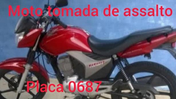 Ituberá: Motocicleta é roubada na estrada de Pancada Grande - policia, itubera