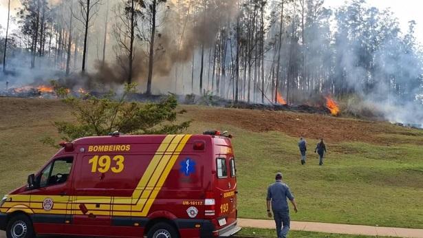 Sete pessoas morrem em queda de avião no interior de São Paulo - brasil, transito