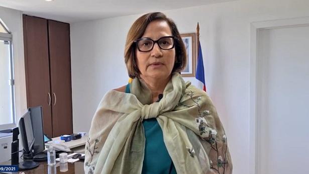 """ÁUDIO: """"Já se nota uma infecção comunitária da variante Delta na Bahia"""", diz secretária Tereza Paim - podcast, noticias, bahia"""
