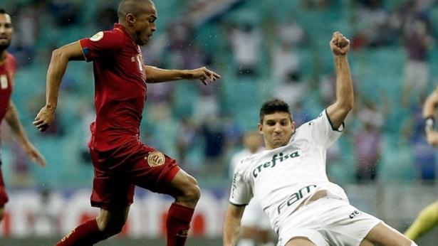 Bahia domina o Palmeiras em Salvador, mas fica no empate e segue no Z4 - esporte, bahia