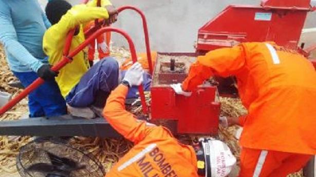 Feira de Santana: Homem prende perna em máquina de moer trigo e precisa ser socorrido - feira-de-santana, transito