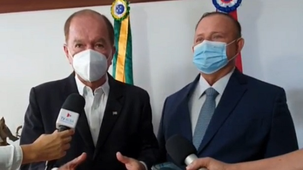 Governador em exercício, João Leão retransmite cargo para presidente da Alba - bahia