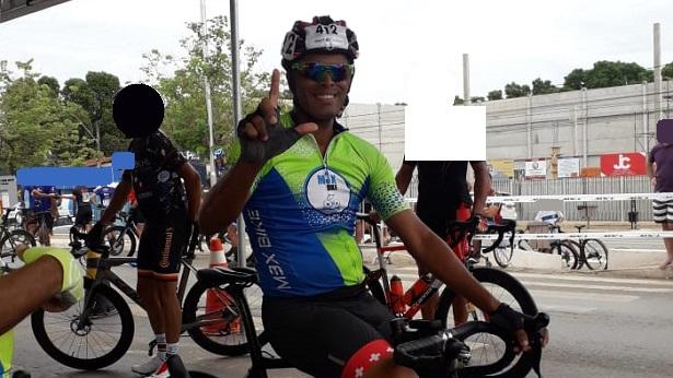 Lucas Tacio participou neste domingo da etapa única do Campeonato Baiano de Ciclismo - esporte, bahia