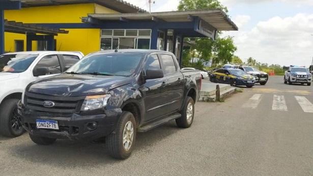 Veículo roubado em SAJ é recuperado em Feira de Santana - saj, policia, feira-de-santana, destaque, bahia