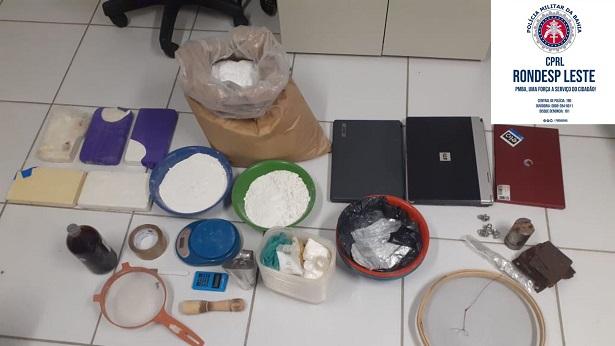 Feira de Santana: Rondesp Leste apreende sete quilos de cocaína - feira-de-santana